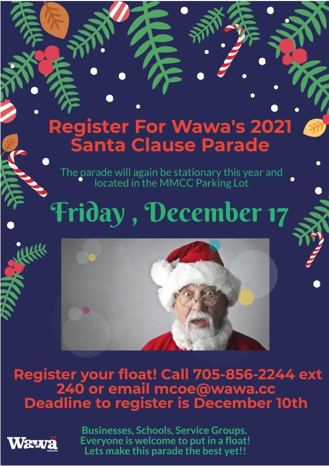 Santa Clause Parade Information
